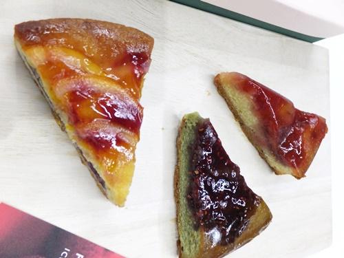 苺とベリーの3種のタルト