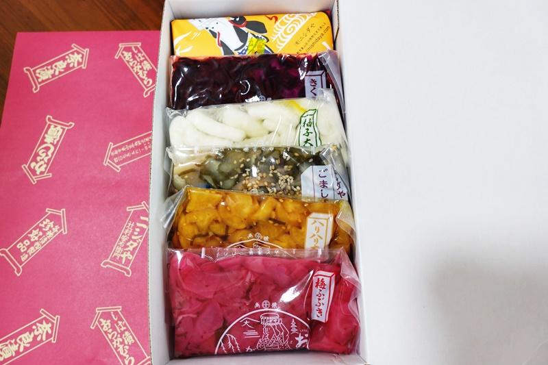 京都のとても美味しい本物の漬物。