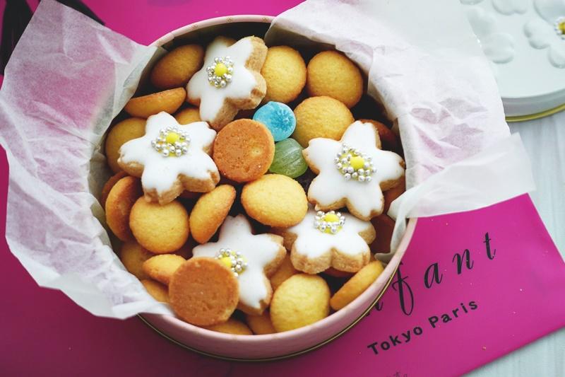 ジェイム神戸のかわいいクッキー缶